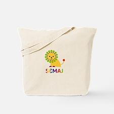 Semaj Loves Lions Tote Bag