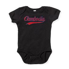 Retro Cambodia Baby Bodysuit