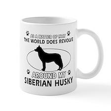Siberian Husky dog funny designs Mug