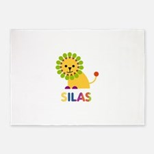 Silas Loves Lions 5'x7'Area Rug