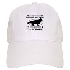 Sussex Spaniel dog funny designs Baseball Cap