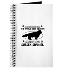 Sussex Spaniel dog funny designs Journal