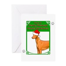 Cute Pharaoh hound Greeting Cards (Pk of 10)