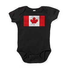 Canada Flag Baby Bodysuit