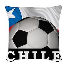 Football Chile Woven Throw Pillow