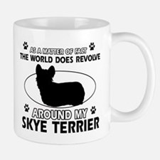 Skye Terrier dog funny designs Mug