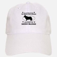 Swedish Vallhund dog funny designs Baseball Baseball Cap