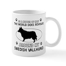 Swedish Vallhund dog funny designs Mug