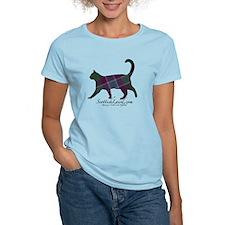 The Dunans Tartan Cat T-Shirt
