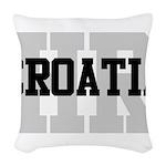 HR Croatia Woven Throw Pillow