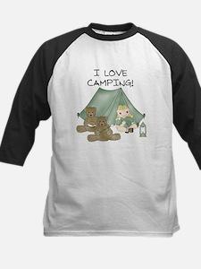 I Love Camping (Girl) Tee