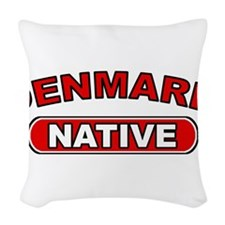 Denmark Native Woven Throw Pillow