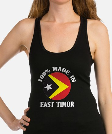 Made In East Timor Racerback Tank Top