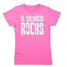 El Salvador Rocks Girl's Tee