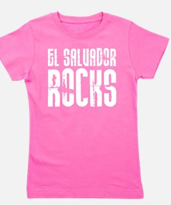 El Salvador Rocks Girl's Tee