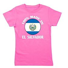 Made In El Salvador Girl's Tee