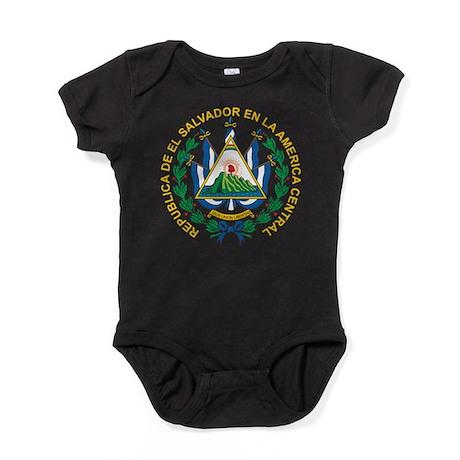 El Salvador Coat Of Arms Baby Bodysuit
