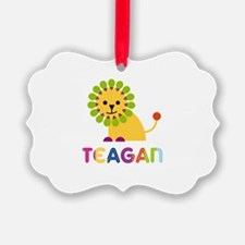 Teagan Loves Lions Ornament