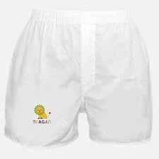 Teagan Loves Lions Boxer Shorts