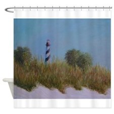 ST. AUGUSTINE LIGHTHOUSE VIEW Shower Curtain