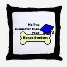 My Pug Is Smarter Than Your Honor Student Throw Pi