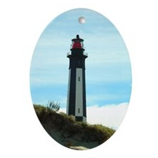 Cape Henry Lighthouse Oval Ornament