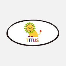 Titus Loves Lions Patches