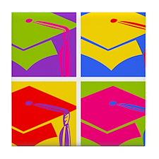 Pop Art Grad Tile Coaster