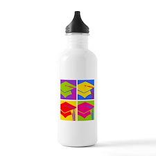 Pop Art Grad Sports Water Bottle