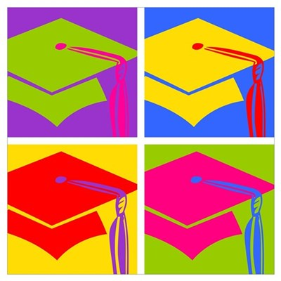 Pop Art Grad Wall Art Poster