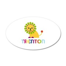 Trenton Loves Lions Wall Decal