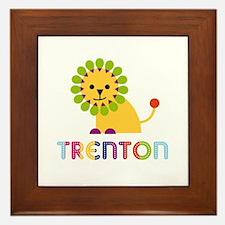 Trenton Loves Lions Framed Tile
