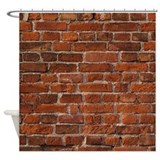 Brick Shower Curtains