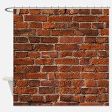 Brick Wall Shower Curtain
