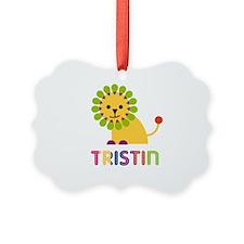 Tristin Loves Lions Ornament