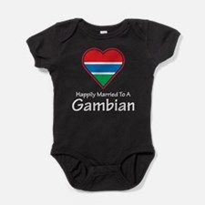 Happily Married Gambian Baby Bodysuit