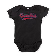 Retro Gambia Baby Bodysuit