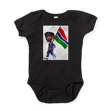 3D Gambia Baby Bodysuit