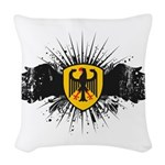 Germany Woven Throw Pillow