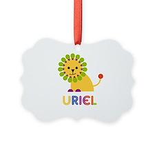 Uriel Loves Lions Ornament