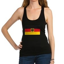 Flag + Coat Of Arms Racerback Tank Top