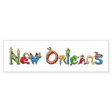 New Orleans Bumper Bumper Sticker