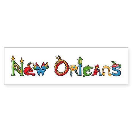 New Orleans Bumper Sticker