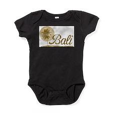 Palm Tree Bali Baby Bodysuit