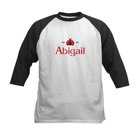 Red LadyBug - Abigail Kids Baseball Jersey