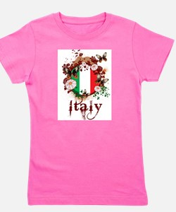 Butterfly Italy Girl's Tee