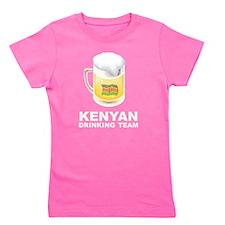 Kenyan Drinking Team Girl's Tee
