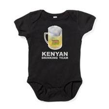 Kenyan Drinking Team Baby Bodysuit