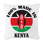 Made In Kenya Woven Throw Pillow