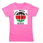 Made In Kenya Girl's Tee